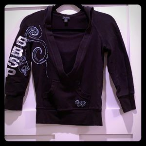 Cotton Bebe Sport sweater with hoodie